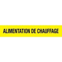 Opti-Code™ Pipe Markers - Alimentation De Chauffage