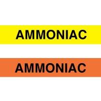 Opti-Code™ Pipe Markers - Ammoniac