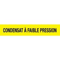 Opti-Code™ Pipe Markers - Condensat À Faible Pression