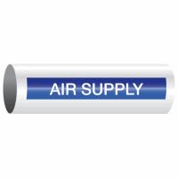 Opti-Code™ Self-Adhesive Pipe Markers - Air Supply