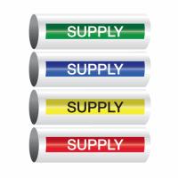 Opti-Code™ Self-Adhesive Pipe Markers - Supply