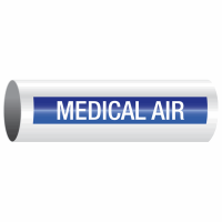 Opti-Code™ Self-Adhesive Pipe Markers - Medical Air