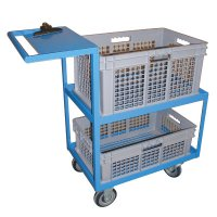 Steel Order Picking Cart