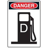 Pictogram Signs - Diesel Fuel