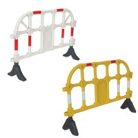 Plastic Interlocking Barriers