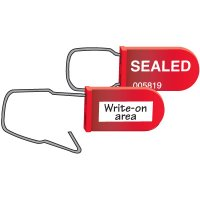 Write-On Plastic Padlock Seals