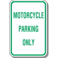 Property Parking Signs - Motorcycle Parking Only