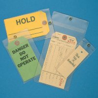 Clear Protective Tag Envelopes