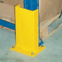 Pallet Rack Guards - Protector with Rubber Bumper