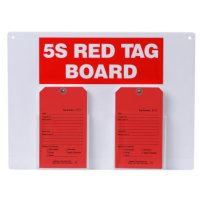 Red Tag Stations - 5S Red Tag Board
