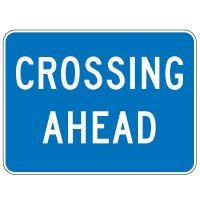 Regulatory School Zone Signs - Crossing Ahead