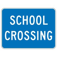 Regulatory School Zone Signs - School Crossing