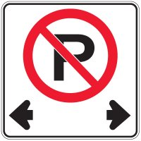 Regulation Traffic Signs - No Parking