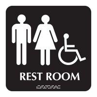 Restroom - Optima ADA Restroom Signs