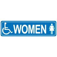 Restroom Signs - Women Handicap