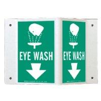 Rigid High Visibility Signs - Eye Wash