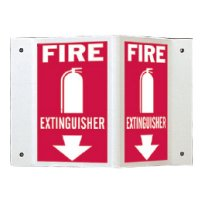 Rigid High Visibility Signs - Fire Extinguisher