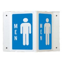 Rigid High Visibility Signs - Men