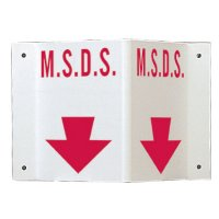 Rigid High Visibility Signs - M.S.D.S
