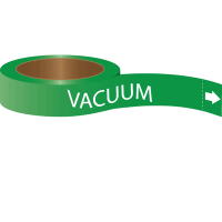 Roll Form Self-Adhesive Pipe Markers - Vacuum