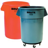 Rubbermaid®  Brute® 32 Gallon Trash Can & Lid