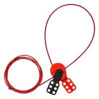 Brady SAFELEX LO W/ 10 FT NYLON CABLE - Part Number - 145549 - 1/Each