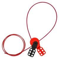 Brady SAFELEX LO W/ 6 FT NYLON CABLE - Part Number - 145550 - 1/Each