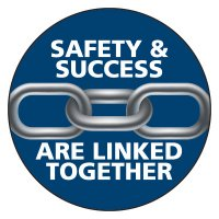 Safety Hard Hat Labels - Safety & Success