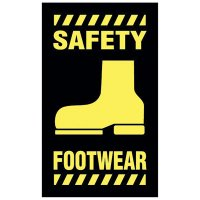 Safety Message Mat - Safety Footwear