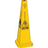 Safety Traffic Cones- Caution