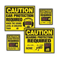 Semi-Custom Decibel Meter Signs