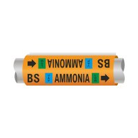 Setmark® Ammonia Pipe Markers - Booster Suction