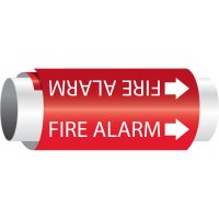 Setmark® Snap-Around Fire Protection Markers - Fire Alarm