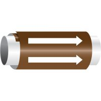 Setmark® Snap-Around Pipe Markers - Directional Arrows Only