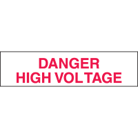 Setonsign® Value Packs  Danger High Voltage