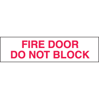 Setonsign® Value Packs  - Fire Door Do Not Block