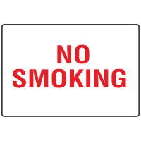 Snap Loop Signs - No Smoking