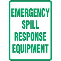 Spill Sign - Emergency Spill Response Equipment