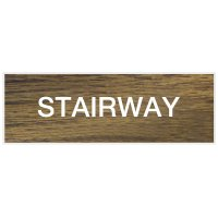 Stairway - Engraved Standard Worded Signs