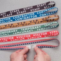 Stock Printed Breakaway Lanyards - Staff