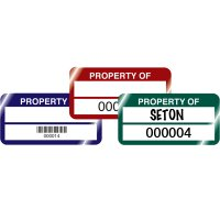 QuickGuard® Plus Stock Asset Tags