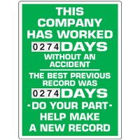 Stock Scoreboards - Company Without An Accident