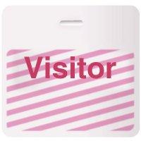 Stock TIMEbadge®  - Visitor CARDbadge®