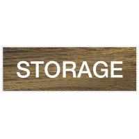 Storage - Engraved Standard Worded Signs