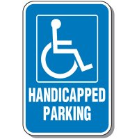 Handicap Signs - Handicapped Parking (Vertical)