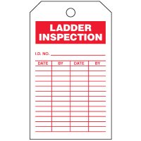 Inspection Tags-On-A-Roll - Ladder Inspection