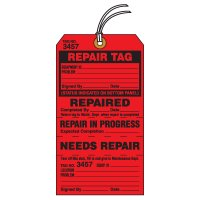 Tear-Off Jumbo Repair Tags