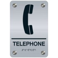 Telephone - Premium ADA Facility Signs