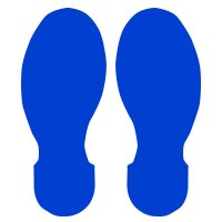 Brady® Toughstripe® Die-Cut Shapes - Footprints