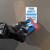 ToughWash® Labels - Food Safety Equipment Wash Only